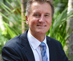 Vice Chancellor Nick Klomp